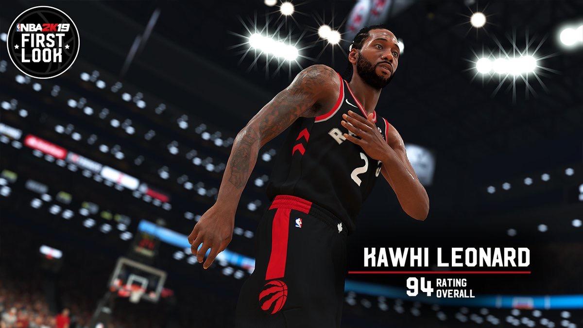 d83f9993913 Les notes de NBA 2K19   Kawhi Leonard obtient 94
