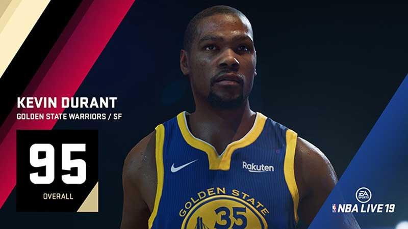 Les notes de NBA LIVE 19 : Le King sur le trône des ailiers