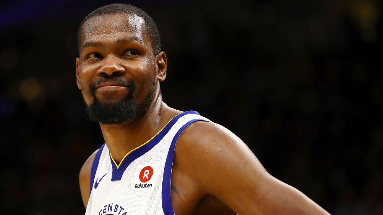 27c4be8c752a Kevin Durant est bien trop fort   41 points et un quatrième quart ...
