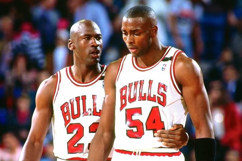 Michael Jordan et Horace Grant
